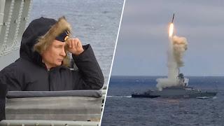 Angkatan Laut Rusia Gelar Latihan Militer di Laut Hitam