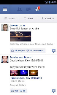 Facebook for Android v1.8.1