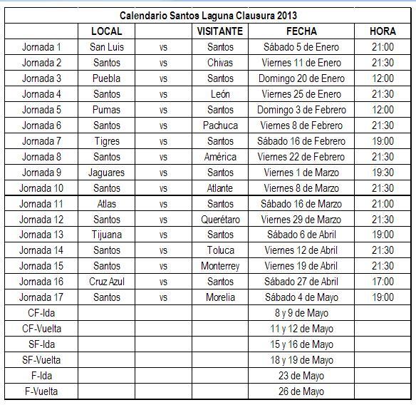 """Search Results for """"Calendario De Santos Laguna 2015"""