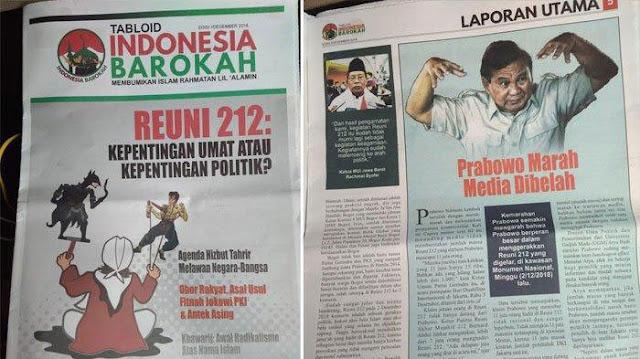 TKN Jokowi-Ma'ruf, Ipang Wahid Bersumpah Bukan Orang di Balik Tabloid Indonesia Barokah