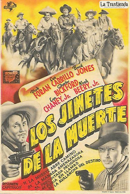 Los Jinetes de la Muerte (Cap.1º al 5º) - Programa de Cine - Dick Foran - Leo Carrillo