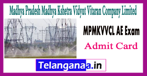 MPMKVVCL Assistant Engineer Admit Card 2018 AE Exam Result
