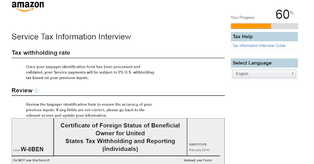 Certificate of Foreign Status of Beneficial Owner for United States Tax Withholding and Reporting