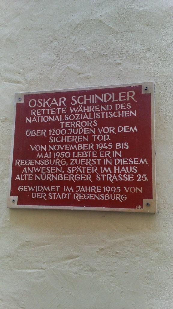 Casa de Oscar Schindler na Alemanha
