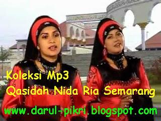 Koleksi Mp3 Qasidah Nida Ria Semarang
