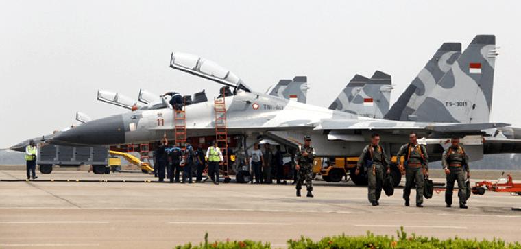 Operasi Pesawat Sukhoi dan F-16