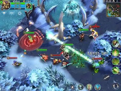Heroes of Order & Chaos Apk v3.5.1c Mod Free Download