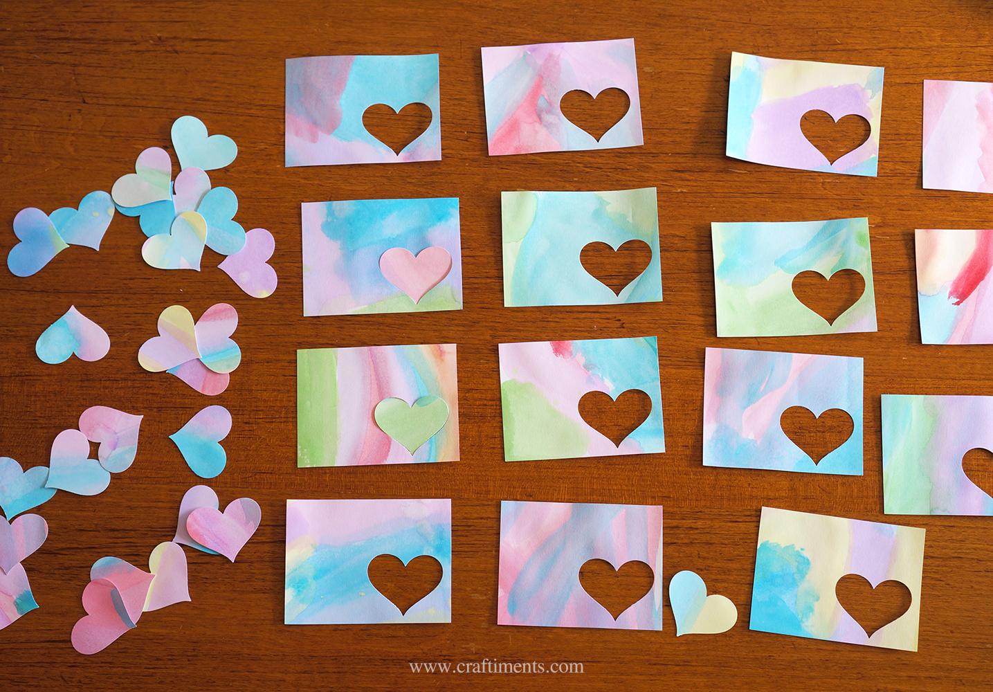 Mix and match heart shapes