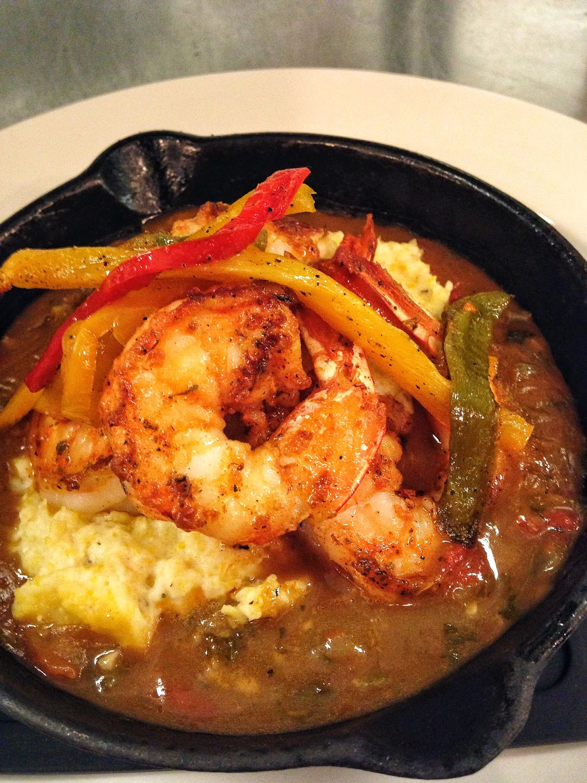 Le Creole's Shrimp and Grits