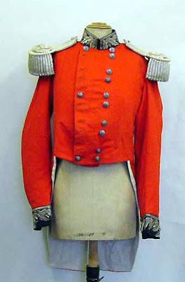 Photograph of the uniform worn by the Lord Lieutenant of Yorkshire