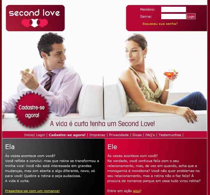 site relacionamentos