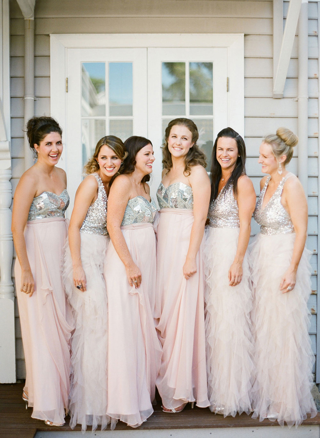 Wedding Trends Sequin Bridesmaid Dresses