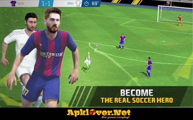 Soccer Star 2017 MOD APK unlimited money
