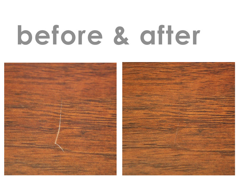 Room 6 How To Fix A Scratch In Laminate Flooring