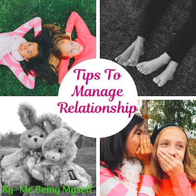 Tips to manage relationships