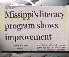 Missippi's literacy program shows improvement