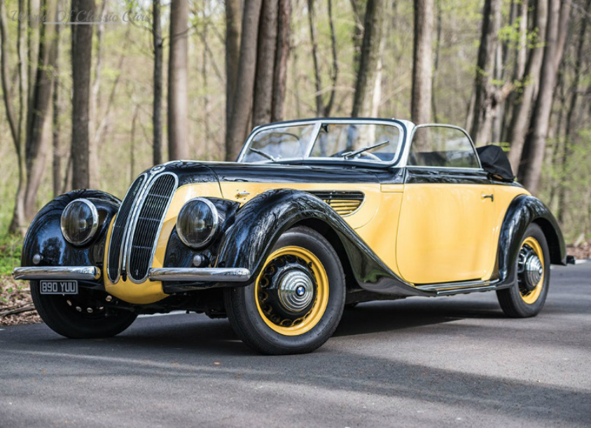 World Of Classic Cars: BMW 327 Sport Cabriolet 1938 - World Of ...
