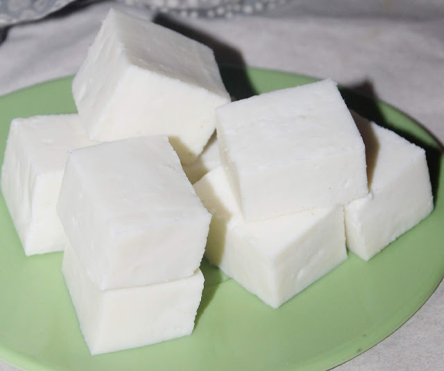 Paneer Cubes