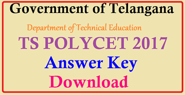 TS POLYCET 2017 Answer Key For All SETS – Download Telangana CEEP Exam Question Paper @ Eenadu, Sakshi, polycetts.nic.inDetails of TS POLYCET Answer Key 2017How to Download TS POLYCET Answer Key 2017/2017/04/ts-polycet-2017-answer-key-for-all-sets-a-b-c-d-CEEP-Exam-TSBTE-download.html