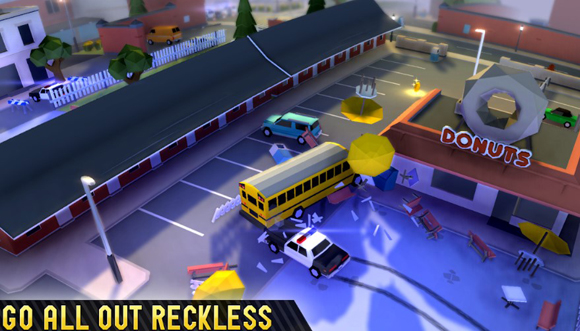 Reckless Getaway 2 Mod Apk Unlimited Gold/Cars Terbaru
