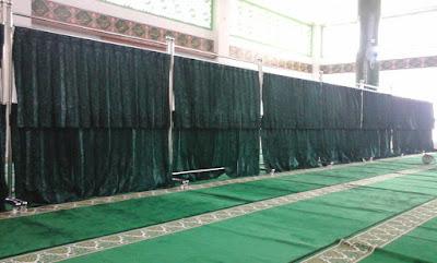 Hijab dan Khimar pembatas dan mani ssholat
