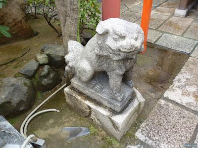 白龍神社の吽像狛犬