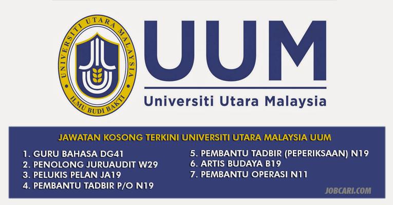 Jawatan Kosong di Universiti Utara Malaysia UUM