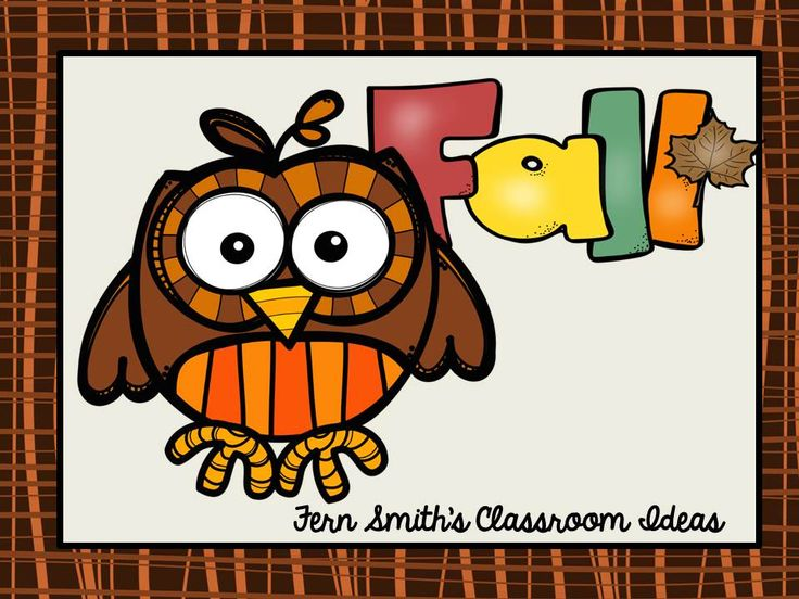 Fern Smith's Classroom Ideas Pinterest Board for Fall Resources for Elementary School Teachers for Autumn.
