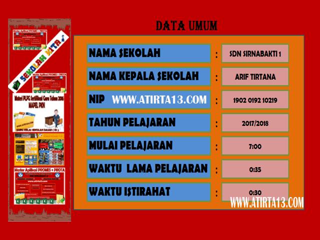 Aplikasi Jadwal Pelajaran Otomatis Anti Bentrok 2017/2018