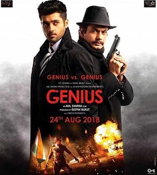 Genius 2018 Hindi Full Movie 700MB DVDScr x264