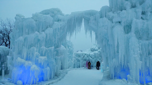 Ice Castles on A Winter's Day: A Series of Haikus