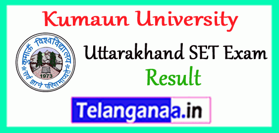 Uttarakhand SET State Eligibility Test Result 2018 Merit List Answer Key