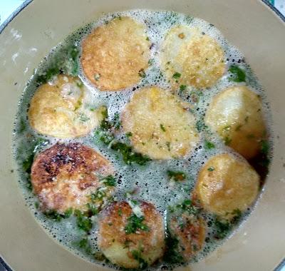 Patatas a la importancia La Cocinera Novata receta cocina gastronomia guiso vegetariano vegano baja en calorias pobres economica