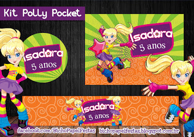 kit Festa Polly Pocket