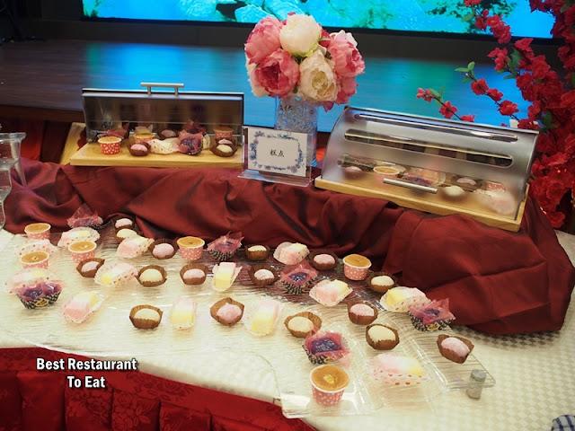 CELESTIAL DYNASTY Menu - Dessert Selection