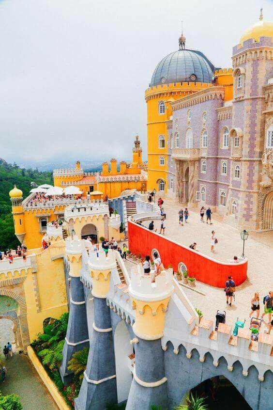 The Palace of Pena, Portugal