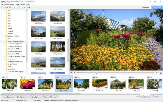 تحميل برنامج دمج الصور مع الصوت لعمل فيديو Hd
