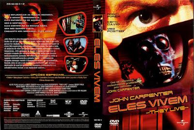 Filme Eles (They Live) Vivem DVD Capa