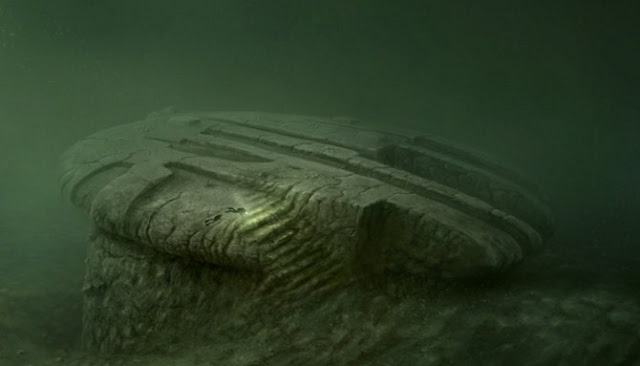 Batu Unik Di Dasar Laut Dianggap Bukti Nyata Keberadaan UFO