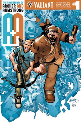 Archer & Armstrong, Valiant Comics, cover, issue #1