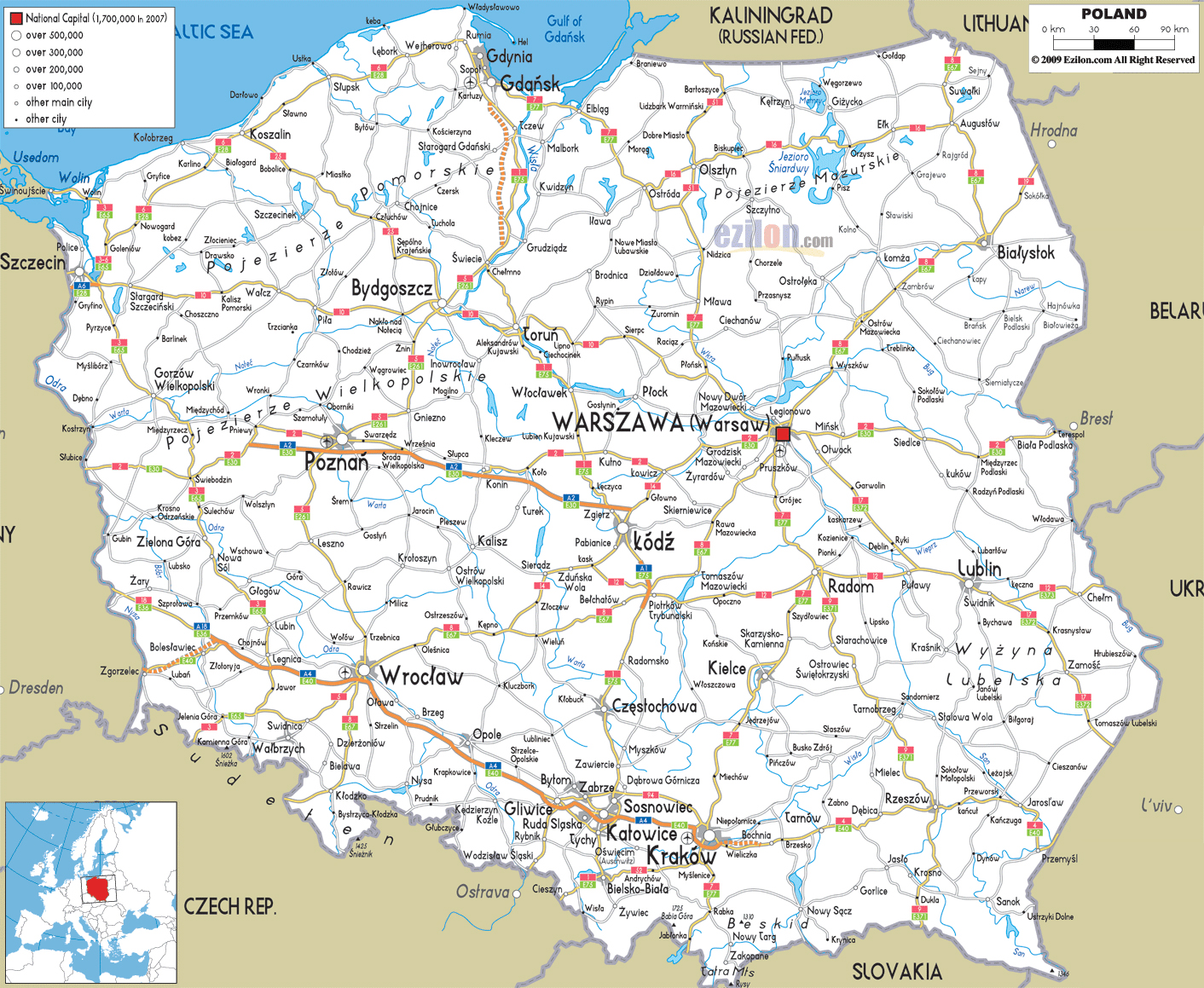 Romania Live Harta Rutiera Polonia Live Webcam Varsovia