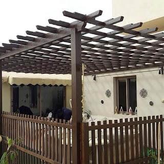 تركيب مظلات منزلية باشكال عصرية