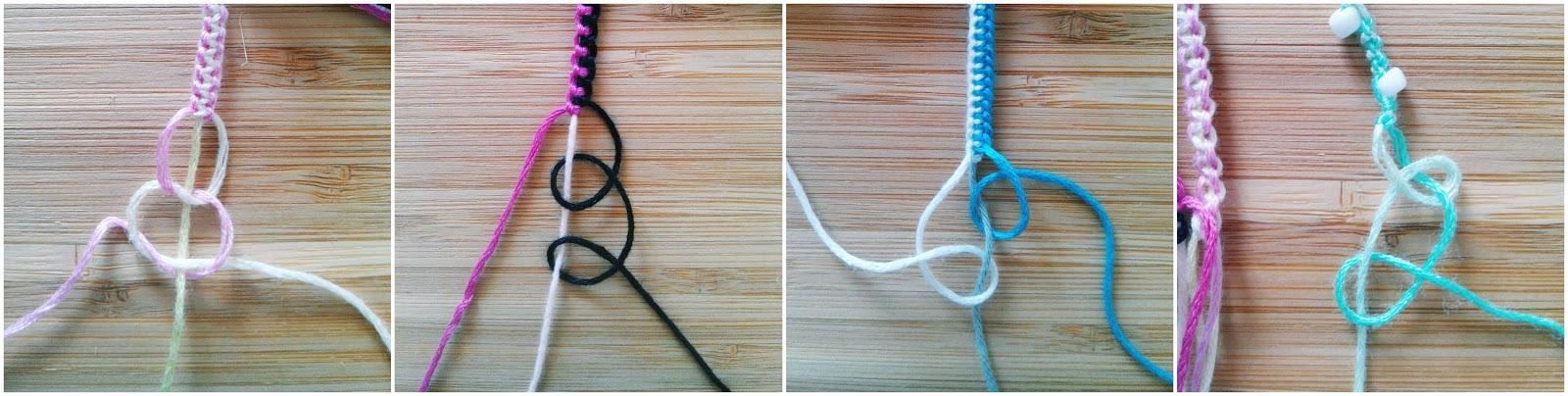 Bien connu DIY - Bracelet brésilien - Douces effrontées EH42