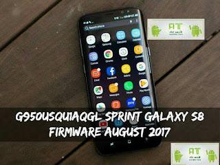 الروم الرسمي Nougat Sprint Galaxy S8-G950U - اندرويد الجمالي