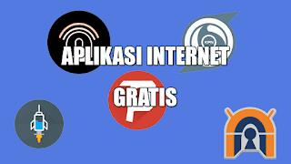10 Aplikasi Internet Gratis Android All Operator 100% Work