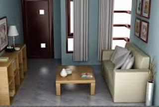 cara penataan ruang tamu sederhana
