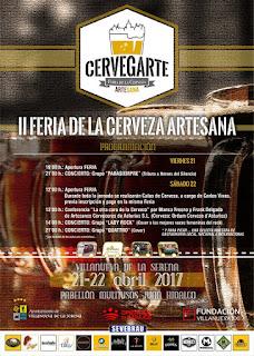 Cervegarte II dorado y en botella