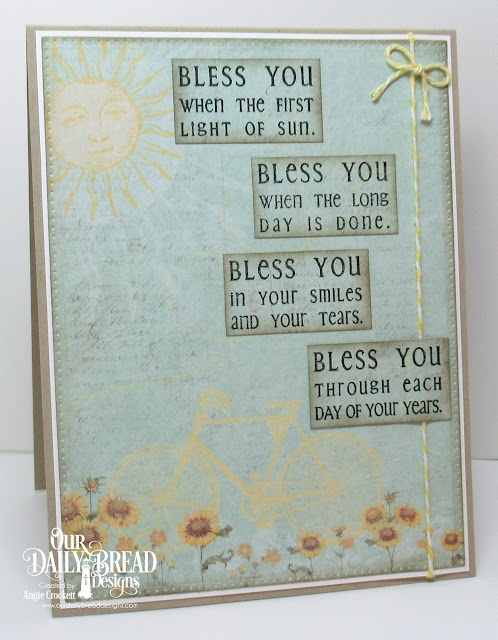 ODBD Bookmarks-Prayers, ODBD Custom Pierced Rectangles Dies, Card Designer Angie Crockett