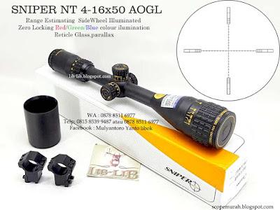 JUAL SNIPER NT 4-16X50 AOGL
