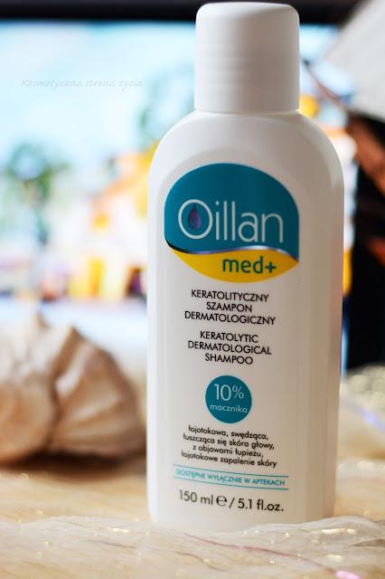 Oillan Med+ szampon keratolityczny
